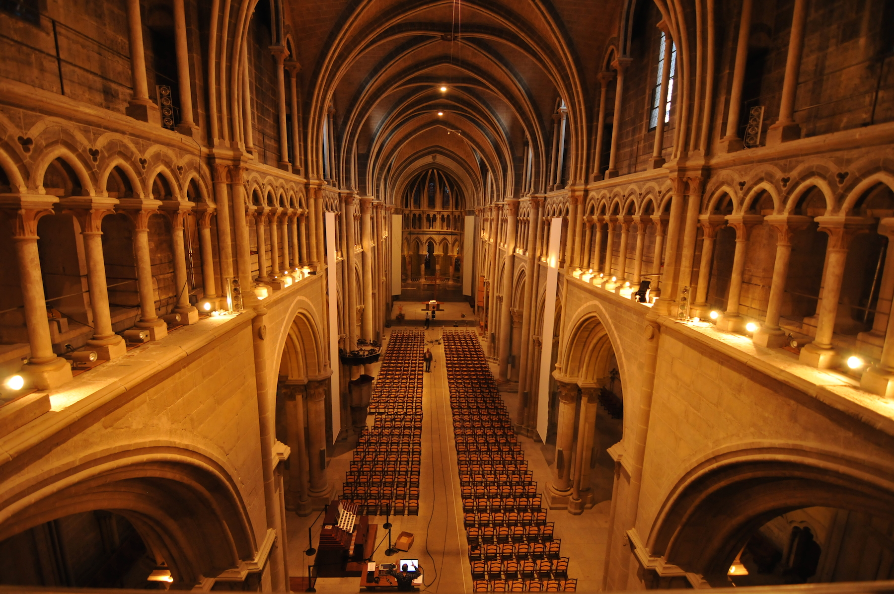 Cathedral's hall